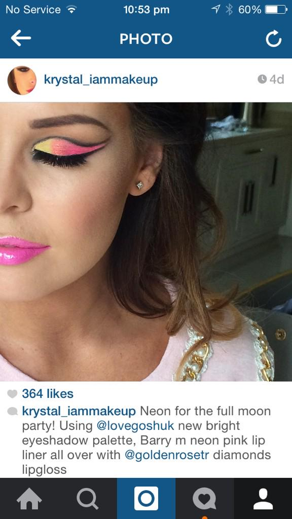 RT @KrystalDawnMUA: Makeup on @MissJessWright_ for full moon party #closeup x http://t.co/yPuivqzMls