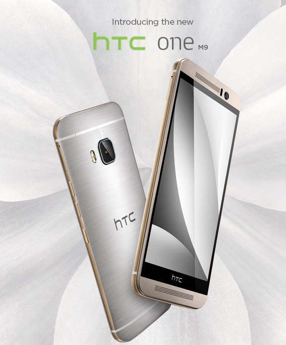 We're proud to introduce the new HTC One M9! #HTCOneM9 http://t.co/hFfoWx4ofa http://t.co/a9W3xhTPya