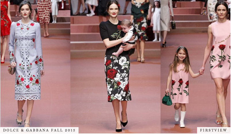 Mama mia! @dolcegabbana paid a haute homage to mothers around the globe this season. Too cute! http://t.co/XnvlWvJgth http://t.co/r4baihH51H