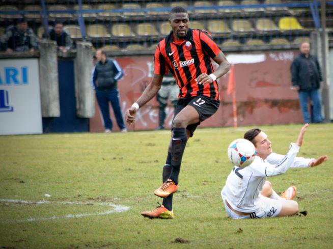 Idrissou was let go by Shkendija
