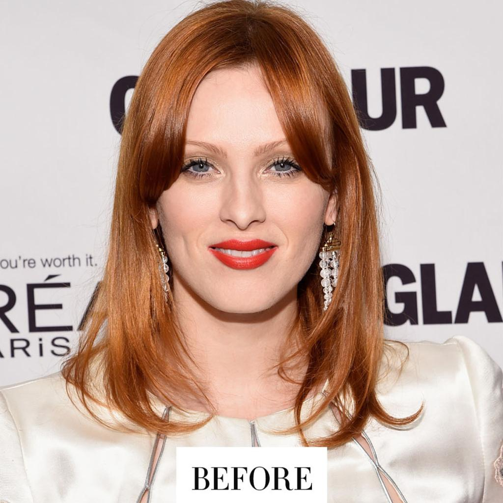 Karen Elson ditched her signature red hair color—see her DRAMATIC new look: http://t.co/8qdw2dIsHN http://t.co/thjtjM4mys