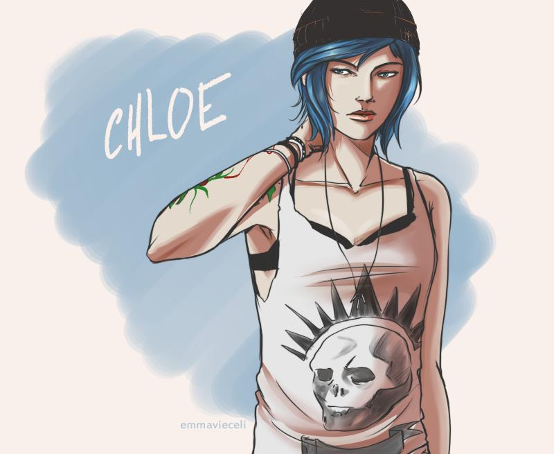 She's done ^_^ #lifeisstrange #fanart @LifeIsStrange http://t.co/5hSaZN8ClJ