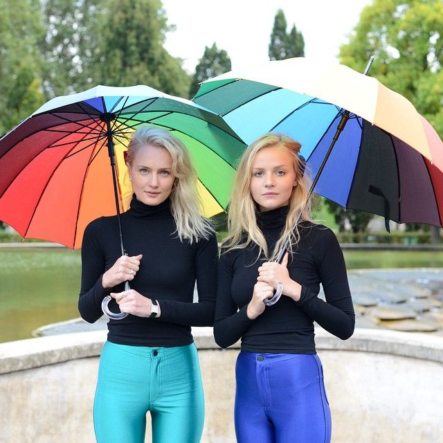 Employees Signe and Annabelle around Paris in bright, bold styles: http://t.co/hiF8btt1s5 http://t.co/hyrcft4mtX