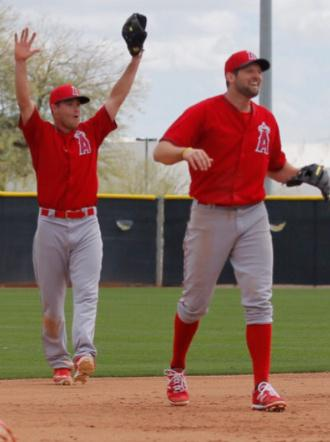 Angels have plenty of newcomers anf high hopes headed into spring training (@Angels/Twitter)