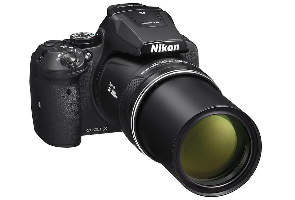 Nikon Coolpix P900 point-and-shoot has a monstrous 83x zoom