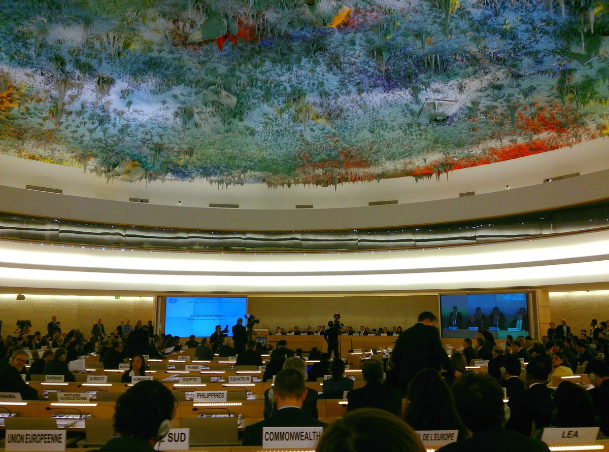 Thumbnail for  28th regular session of the UN Human Rights Council (2 to 27 March 2014)