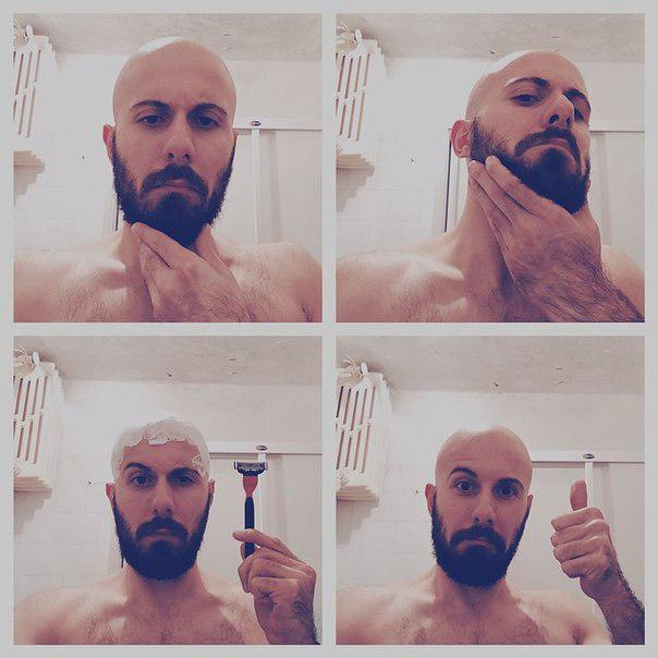 фото приколы мужчин когда бреются штангой помогут