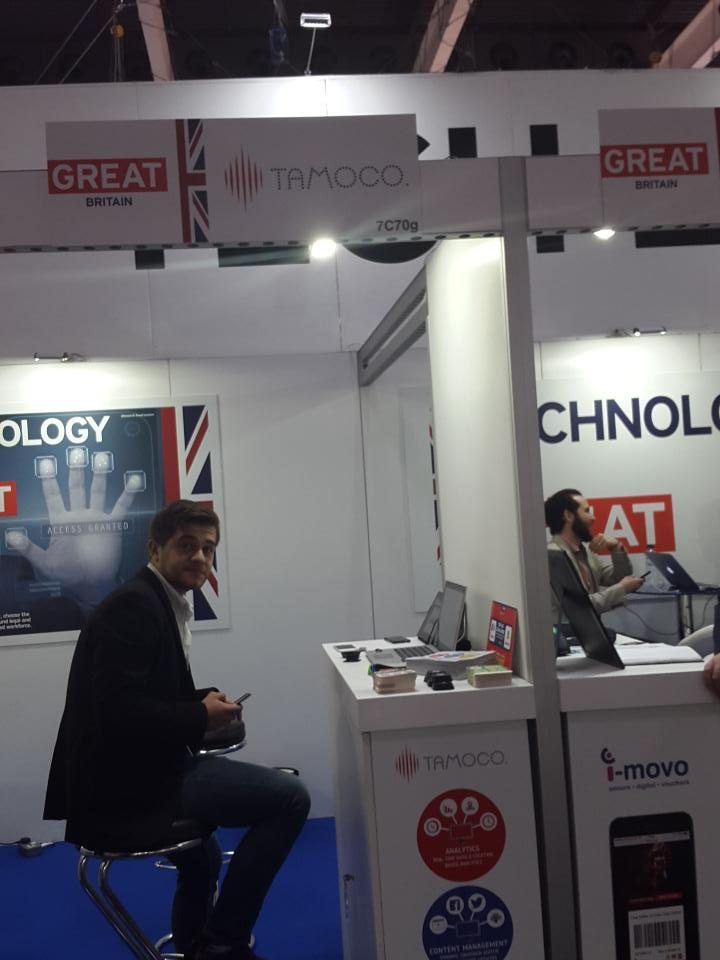 @4YFN_MWC @MWCongress2015 @tamocotech @tamocotech in full swing! Come by stand 7C70 and say hi! http://t.co/RAhImanLj8