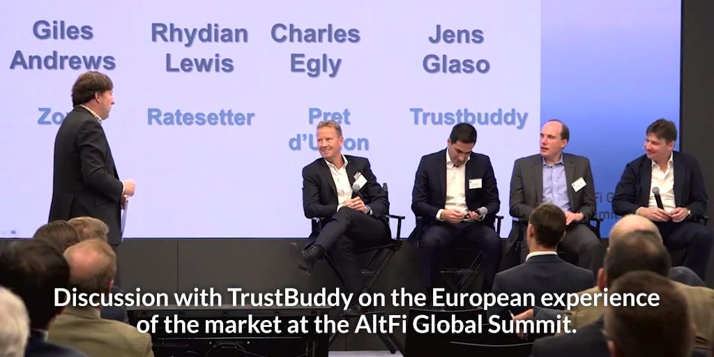 @TrustBuddy on the European experience of the market at @AltFinanceNews Global Summit. http://t.co/LlaplV4yUh http://t.co/lBbzt7PZMn