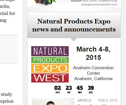 Ahh! Don't let #ExpoWest #stress get to you. Stay balanced with these tips | http://t.co/kYg21Mk7Zv http://t.co/EOhkdigKJ7