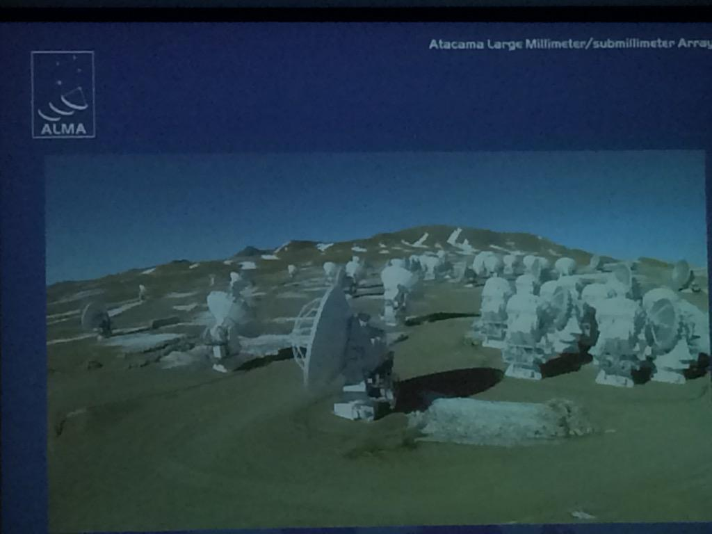 #ALMA is located in the driest place on Earth (except in February) says @ESO 's Villard. #planets2015 http://t.co/HV2b2SjDg8