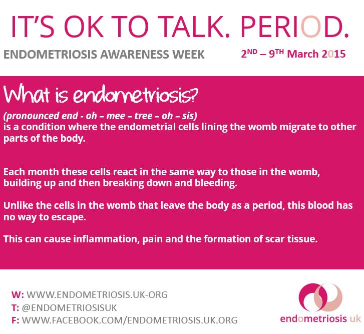 How you explain what endometriosis is? #EndometriosisAwarenessWeek #letstalkperiod http://t.co/9sewaQ3pVa