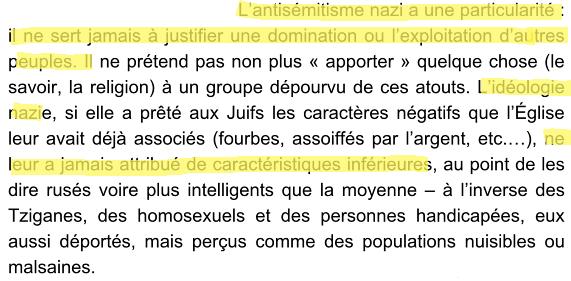 """Les pensées assez confuses de Rokhaya Diallo sur le nazisme (in """"Racisme, mode d'emploi""""). http://t.co/2mgLRg9XPO"""