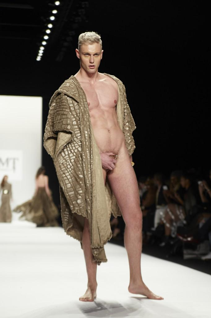 What Naked men runway models