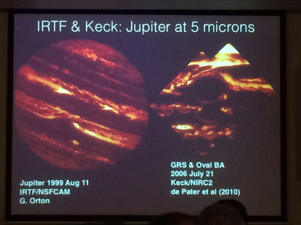 Example of the spectacular images we've been seeing this morning at #planets2015 - this shown by Bjoraker http://t.co/NMh0B7uWAL