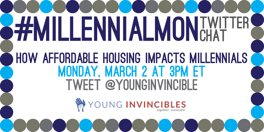 Want to learn more about affordable #housing for Millennials? Join #MillennialMon chat at 3PM ET! http://t.co/qCHLfi9w3f