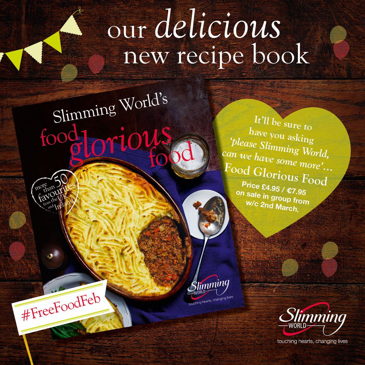 Slimming world on twitter dont forget you can pick up our slimming world on twitter dont forget you can pick up our hearty new recipe book food glorious food at your slimmingworld group this week forumfinder Choice Image