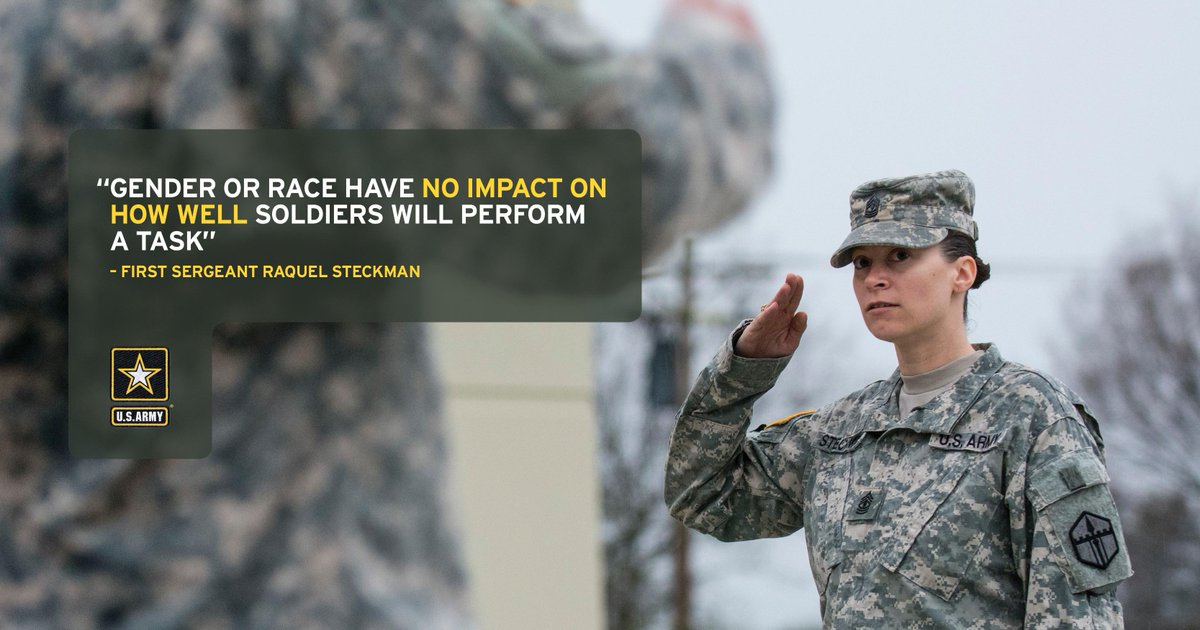 1SG Raquel Steckman is the first female combat engineer senior Sgt in the Army appointed to a Sapper Company as a 1SG