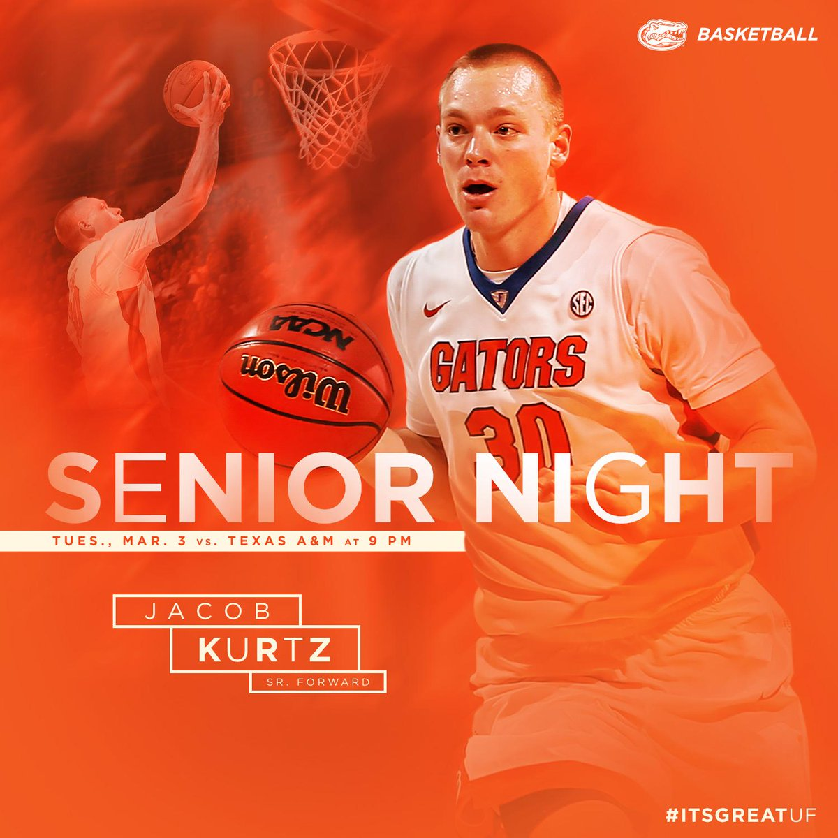 Thumbnail for UF Men's Basketball Senior Night 2015