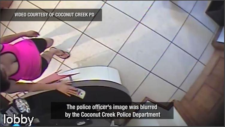 Trending Hidden Camera Records Police Officer Getting An Illegal Massage Sunsentinel