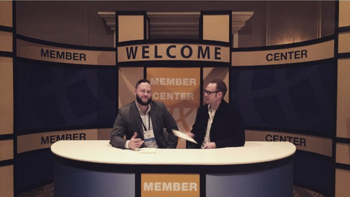 A chance to chill with @natesmoyer of @Faithlife at #NRBdigital for #NRB15 last week. http://t.co/Ps7UebrszZ