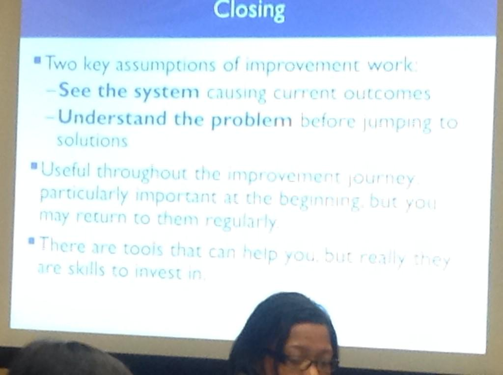 How do you make sure you understand the problem before jumping to solutions?  #CarnegieSummit @BaldrigeProgram http://t.co/eLKtgUkF4W