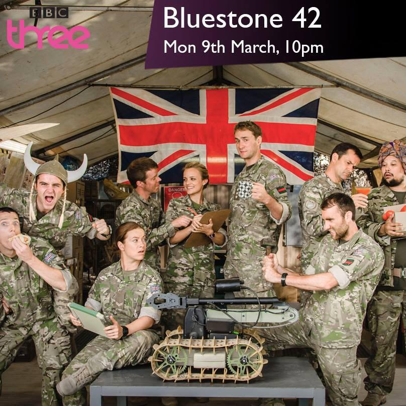 RT @Mattdavelewis: One week to go before Bluestone 42, Series 3 begins with an action-packed opener. Monday, March 9th on @bbcthree... http…