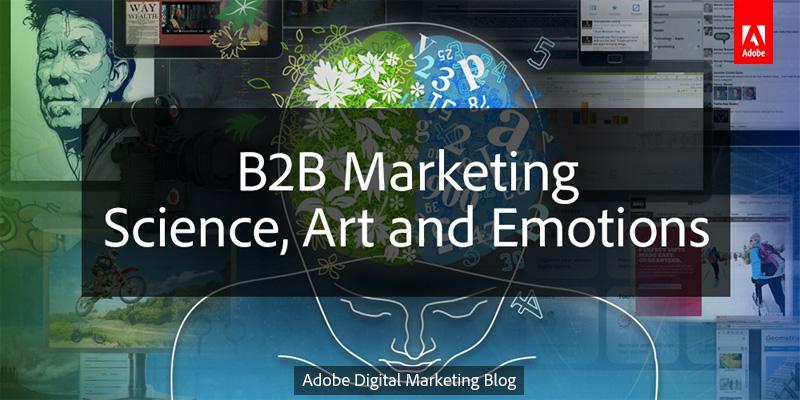 RT @jwatton: [New post] B2B Marketing: Science, Art and Emotions. Ahead of @marketingb2b B2B InTech keynote http://t.co/phYDSjmSRa http://t…