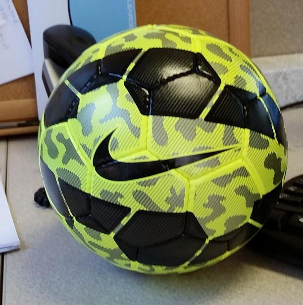 New Futsal ball for #ACMensSoccer #dontgetmegged #howsyourfirsttouch<br>http://pic.twitter.com/sWcBQjD3Nx