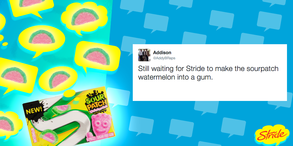 The wait is over, Addison!   NEW Watermelon SPK Stride is for real. http://t.co/iVUcv08Dsi