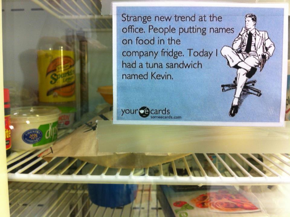 Sandwich Thief. ;) #ReasonYouWereFiredInTwoWords http://t.co/QENYlDMPuH