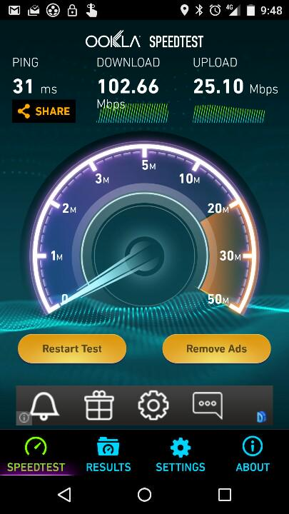 That's the kind of speeds I like to see :) http://t.co/IUyTHaS47q