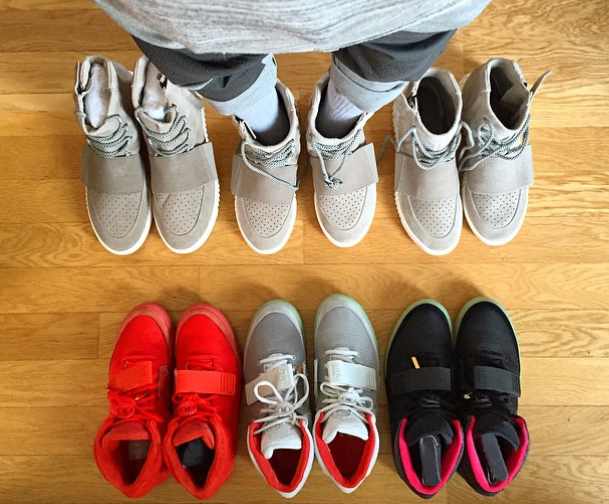 sneakerheads get creative and show off their adidas yeezy boost shoes on  instagram 67df89e19