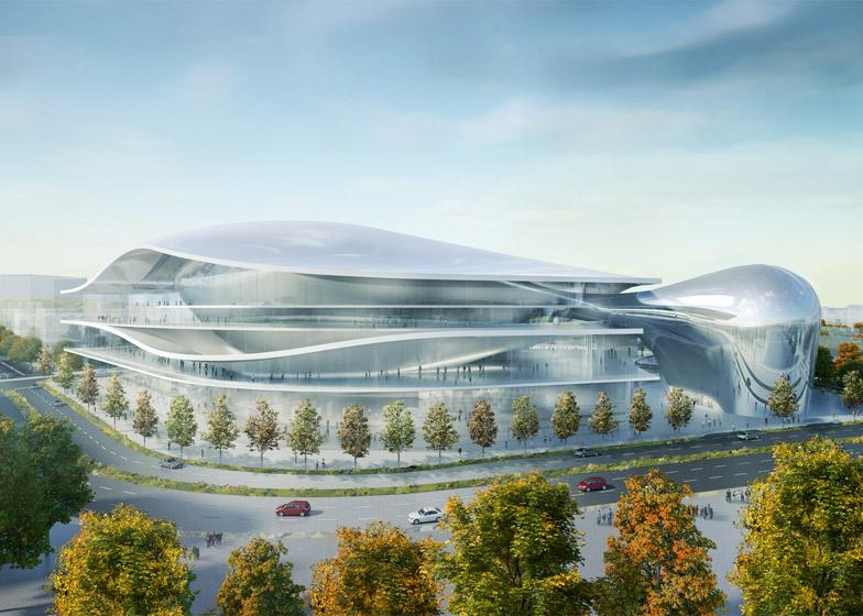 Unique design for convention centre- Have a look at it here: http://t.co/JYsnMI77H9 #design http://t.co/MdYSOaKZ37