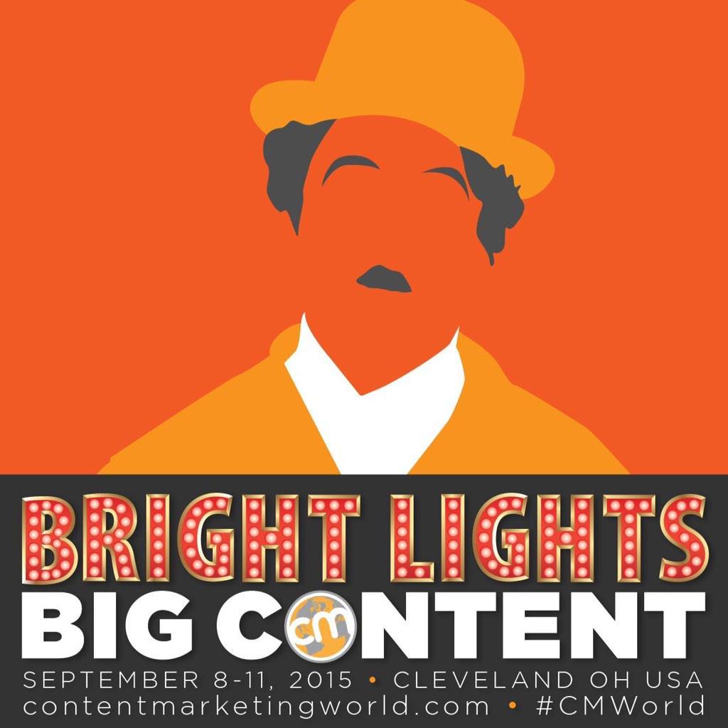 Bright Lights, Big Content! #EncourageEveryoneIn4Words #CMWorld http://t.co/3brHtwuazf