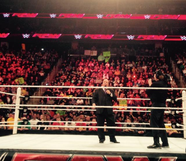 .@HeymanHustle says yes his client @BrockLesnar will be at #WRESTLEMANIA #WWE  #WWENETWORK
