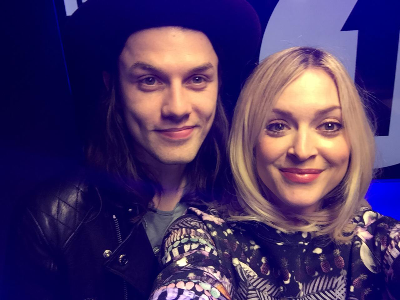 RT @BBCR1: We can't wait to hear @JamesBayMusic's cover of @rihanna's 4 5 Seconds in the Live Lounge at midday! http://t.co/QXdkuVCeCW
