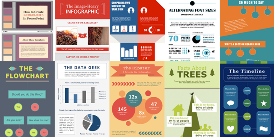 "HubSpot on Twitter: ""[Free Templates] 10 Free Infographic ..."
