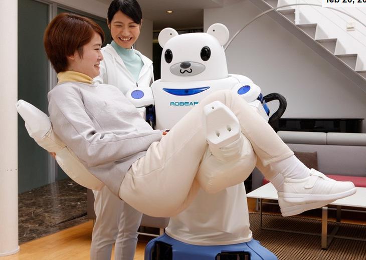 This robotic nurse shaped like a bear is everything. http://t.co/tRfNal5Dgu http://t.co/3tKEM6rOFj