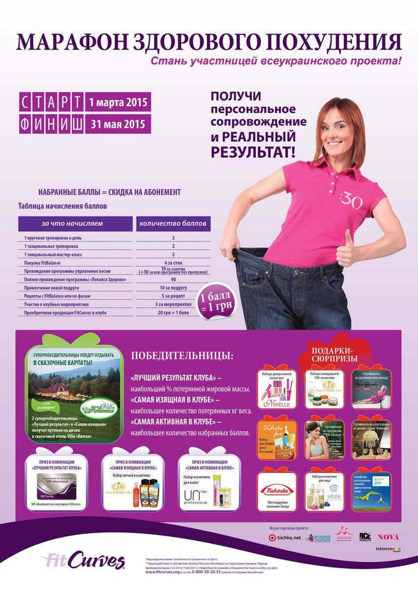 Марафон система похудения