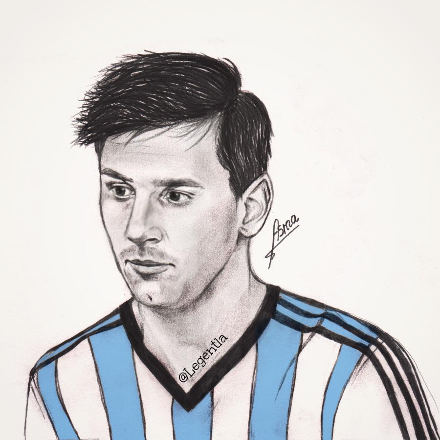 How To Draw Ronaldo And Messi