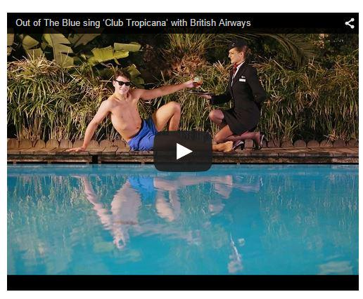 Club Tropicana reinvented for British Airways social campaign - watch it here: http://t.co/BIqsdcafXJ #advert http://t.co/2yqjEoNbmg