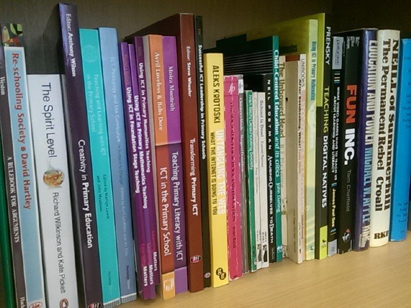 Snapshot of bit of my office bookshelf. #shelfie #gtcsPL http://t.co/rjh9skME25