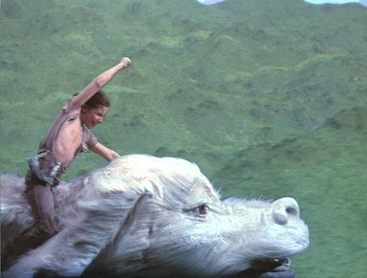 The first #WeaselPecker. Atreyu and Falcor in the NeverEnding Story. http://t.co/zb48NnLnaR