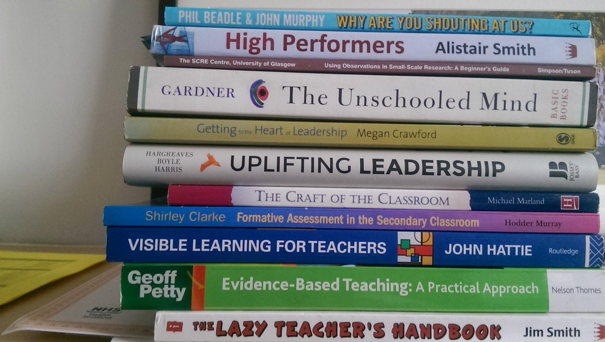 I've lent most of my leadership books to a colleague, but here's what's in my office #gtcspl #shelfies http://t.co/S6w6YfguZD