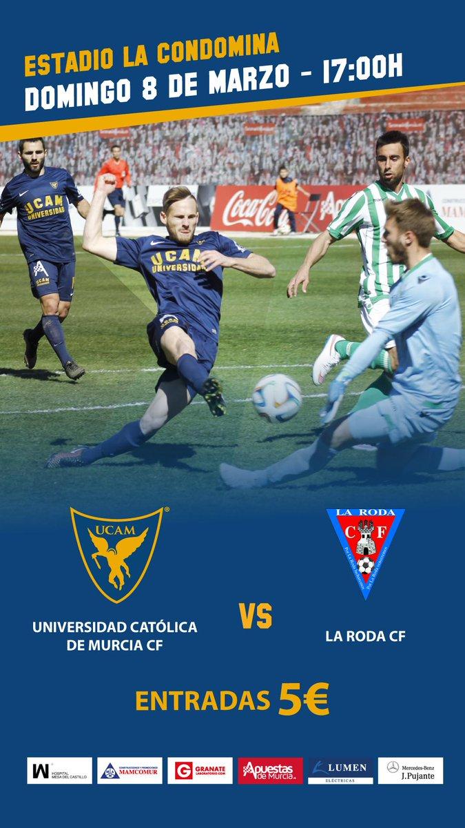 Doble cita con los equipos UCAM este domingo en #Murcia. #UCAMNation @UCAMMurcia + @UCAMMurciaCF #DomingoPerfecto http://t.co/49jwe3LpZB