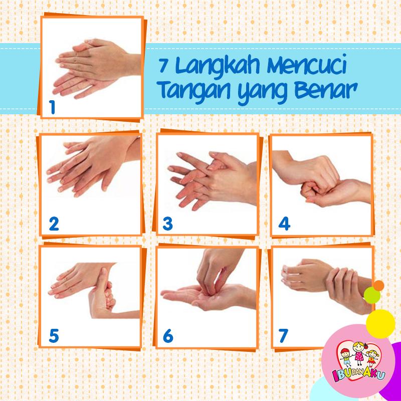 Image result for 7 langkah cuci tangan