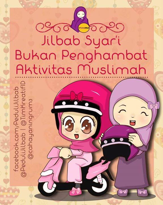 Dwi Lestari On Twitter Kumpulan Gambar Kartun Hijab Animasi By