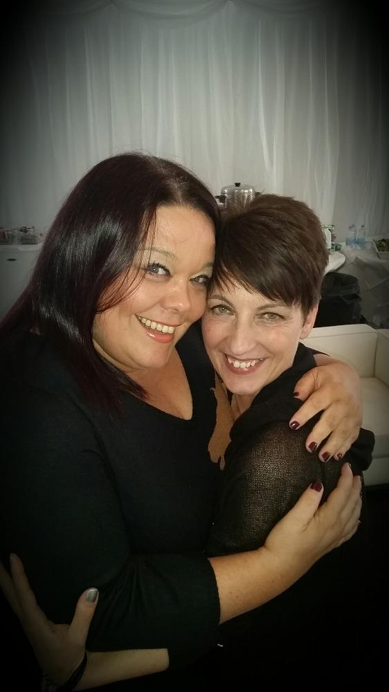 RT @AnnaKennedy1: @Reallisariley at #peoplesstrictly lovely meeting you thanks for your kind words of support  x http://t.co/GDmrqtQWBA