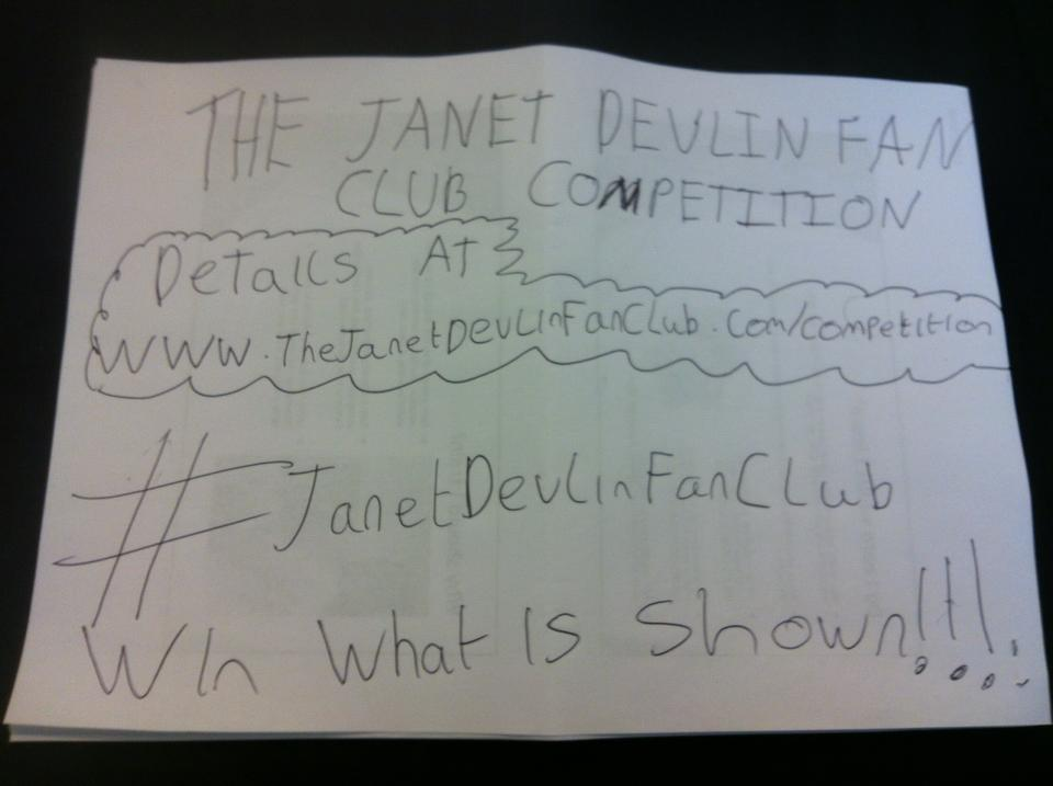 RT @janet_devlinfan: 2 days left to enter my comp for @JanetJealousy's merch details here winner announced thursday http://t.co/5gvmWPulaP …